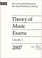 Theory of music exams grade 1 2007 by Abrsm