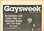 Gaysweek (March 13, 1978) An Interview With…