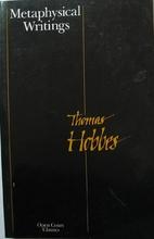Metaphysical Writings: Thomas Hobbes by…