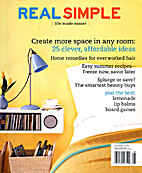 Real Simple magazine April 2006 by Kristin…