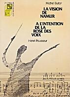 La vision de Namur : a l'intention de la…