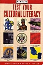 Test Your Cultural Literacy by Diane Zahler