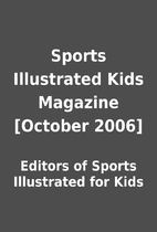 Sports Illustrated Kids Magazine [October…