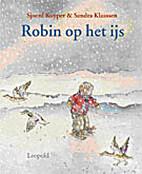 Robin op het ijs by Sjoerd Kuyper
