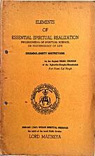 Elements of essential spiritual realizatiom…