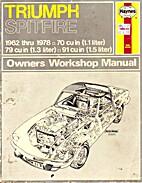 Triumph Spitfire 4 Owner's Handbook by…