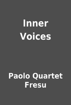 Inner Voices by Paolo Quartet Fresu