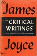 The Critical Writings of James Joyce by…