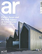 Architectural Review Asia Pacific AR 145…