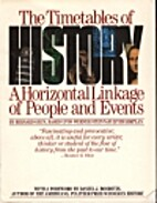 The timetables of history : a chronology of…