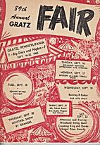 89th Annual Gratz Fair, 1962. by Gratz Fair…