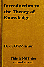 Introduction to the Theory of Knowledge by…
