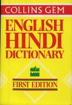 Collins Gem English Hindi Dictionary…