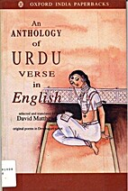 An Anthology of Urdu Verse in English: with…
