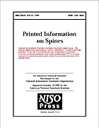 Printed Information on Spines by National…