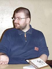 Author photo. Credit: Szymona Sokoła, 2003, Kraków, Poland