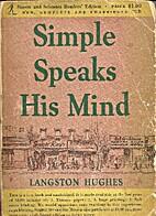 Simple Speaks His Mind by Langston Hughes
