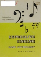Expressive Singing Song Anthology Volume One…