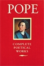 Pope: Poetical Works by Alexander Pope