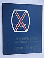 10th Infantry Division, Fort Riley, Kansas,…