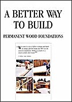 Permanent wood foundations