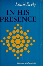 In His presence by Louis Evely