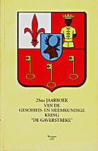 25ste Jaarboek van de Geschied- en…