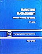 Marketing Management: Video Guide by Philip…