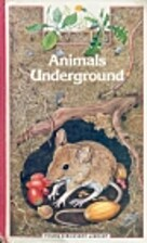 Animals Underground (Young Discovery…