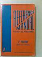 Reference Manual for Office Personnel by…