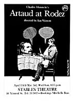 Artaud at Rodez by Charles Marowitz