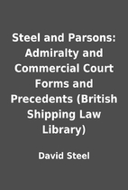 Steel and Parsons: Admiralty and Commercial…