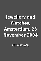 Jewellery and Watches, Amsterdam, 23…