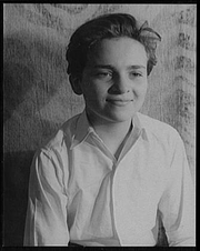 "Author photo. Photo by Carl Van Vechten, May 7, 1939, as Johnnie in ""My heart's in the Highlands"" (Library of Congress, Carl Van Vechten Collection, Reproduction number: LC-USZ62-103658)"
