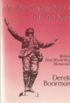 At the Going Down of the Sun: British First…