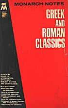 Greek and Roman Classics by Unicio J. Violi