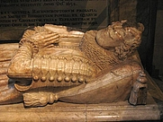 Author photo. Tomb of Thomas Ravenscroft in Barnet Church. Photograph by Michael Reeve, July 10, 2004. From http://en.wikipedia.org/wiki/Image:Thomas_ravenscroft.jpg