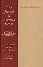 The Journal of American History (Vol LXI|…