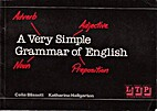 Very Simple Grammar of English by…