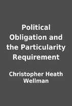 Political Obligation and the Particularity…