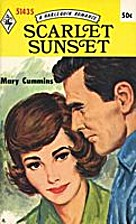 Scarlet Sunset by Mary Cummins