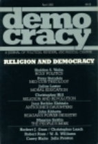 Democracy : a journal of political renewal…