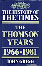 The History of The Times: The Thomson…