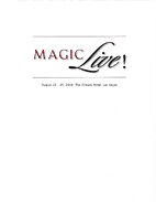 MAGIC Live 2004 by Stan Allen