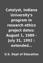 Catalyst, Indiana University's program in…