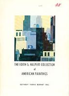 The Edith G. Halpert Collection of American…
