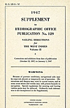 1947 Supplement to Hydrographic Office Pub…