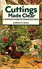 CUTTINGS MADE CLEAR by Beatrice C. Hearne