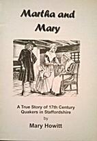 Martha and Mary by Mary Howitt