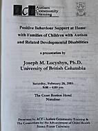 PBS Conference Feb 2005: Positive Behaviour…